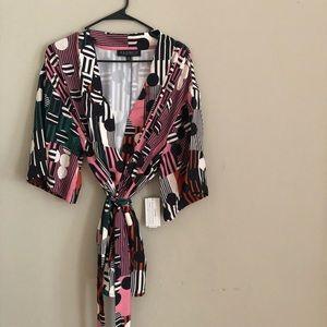 Kimono Style Wrap Top